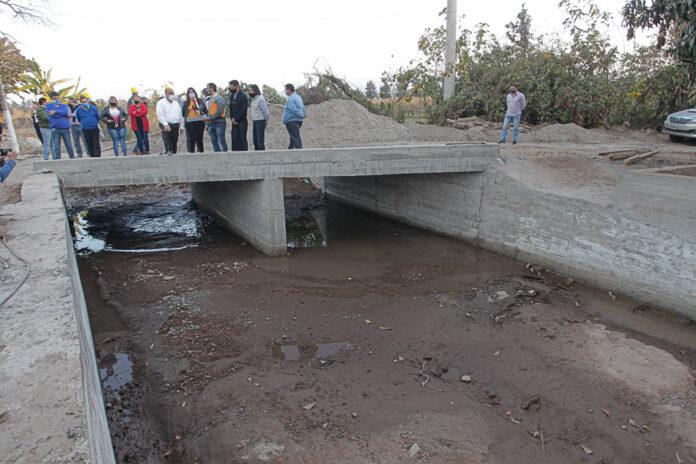 Alberdi se prepara con obras en puentes y canales para evitar inundaciones