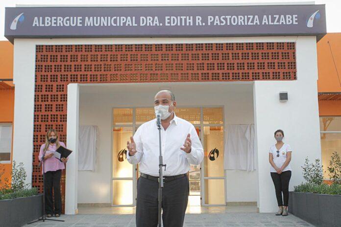 Aguilares inauguró un albergue para el personal de salud que asiste pacientes covid