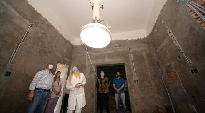 El hospital de Alberdi se remodela para ampliar la capacidad de respuesta