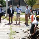 Desarrollan obras de agua potable para beneficio de 2000 capitalinos