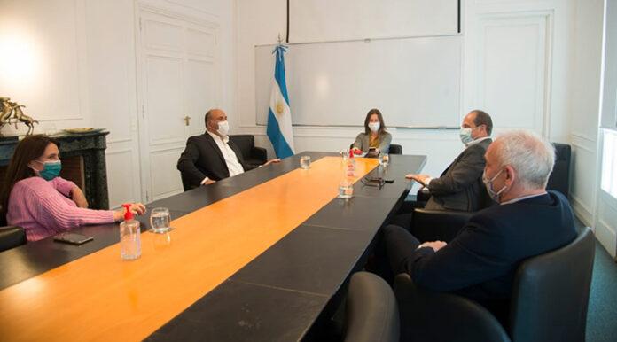 Manzur y Frederic coordinaron estrategias para capacitar a la Policía de Tucumán