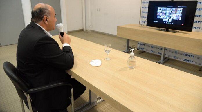 Manzur participó de la elección del Secretario General del CFI